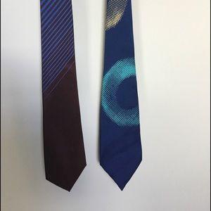 Matsuda Vintage Ties